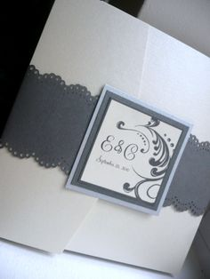 Great Handmade Wedding invitations from etsy