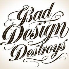 Bad Design Destroys Tattoo