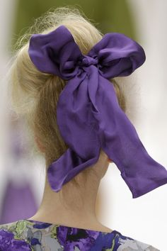 oh-so-golightly:  Moschino purpl bow, hair bows