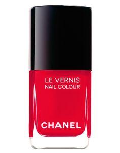 Chanel Midnight Red nailpolish