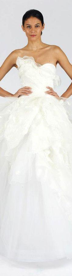 Oscar de la Renta 2013 Fall Bridal