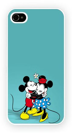 Mickey And Mini mouse iPhone 5 Mobile Phone