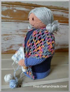 Amigurumi Old Lady - FREE Crochet Pattern / Tutorial