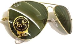 The originals... often imitated but there's only one Ray Ban Aviator... These make great driving glasses, everyone should have a pair in their arsenal.