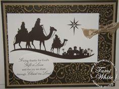 Come to Bethlehem Stampin' Up stamp set