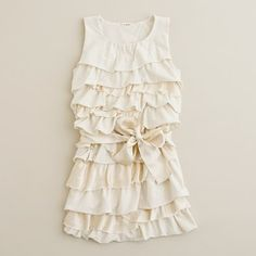 So pretty! (This is a little girl's dress but a shirt in this style would be wonderful for us grownup ladies!)