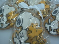 snoopy and woodstock Cookies