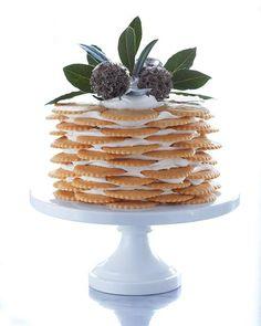 Lemon  Mascarpone Ice Box Cake
