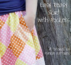 Easy Peasy Skirt w/Pockets