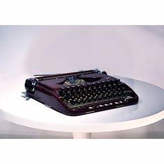 Groma Kolibri typewriter with full Ukrainian keyboard