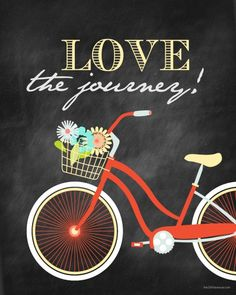 LOVE the Journey (free printable available in various colors)
