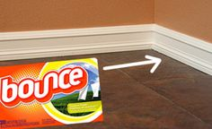 Keep baseboards clean with this tutorial.  AND 45 of the BEST Home Organizational & Household Tips, Tricks & Tutorials with their links!! Party and event prep, too! from MrsPollyRogers.com