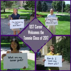 The Career Development Center welcomes #Tommies2017 to campus!