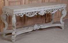 Baroque Painted Console | Antique Furniture | Inessa Stewart's Antiques