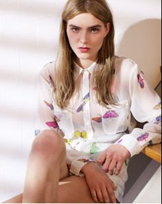 Butterfly Blouse. #asos