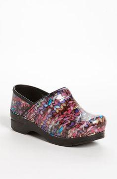 shoes, clogs, nordstrom, dankso profession, funki knit, dansko dankso, shoe closet, profession clog