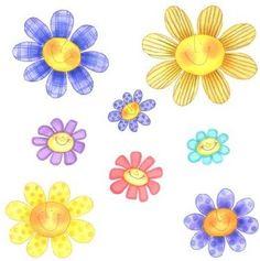 Imagenes infantiles de flores para imprimir - Imagenes y dibujos para imprimir-Todo en imagenes y dibujos