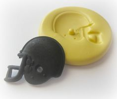 football helmet fondant polymer clay mold