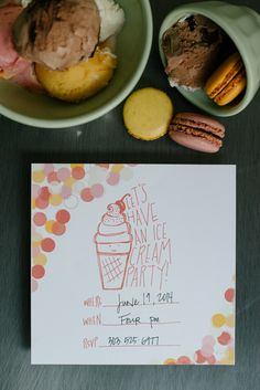 an ice cream party is my fave: free printables