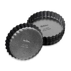 Advance® 6-Piece 4-Inch Tart & Quiche Pans (Set of 6) - BedBathandBeyond.com