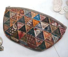 Patchwork purse by Yoko Saito by Very Berry Handmade, via Flickr