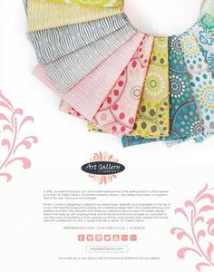 ISSUU - Essentials by Pat Bravo by Art Gallery Fabrics