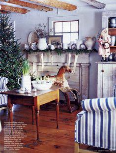 Terry John Woods home - mantel