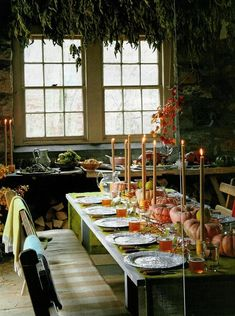 Thanksgiving table ...
