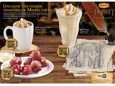 """Restaurant chain Denny's is continuing to rely on augmented reality and QR codes with Warner Bros. movie """"The Hobbit"""" this holiday season with a campaign that integrates social media.  The new promotion also includes a strong social element giving The Hobbit fans a chance to win exclusive gold coins from the latest installment of the trilogy on Denny's social channels. The strategy builds off of last year's promotion, which featured QR codes and delivered over 400,000 engagements."""