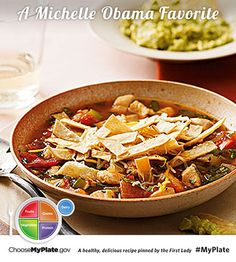 Mexican Tortilla Soup #protein #myplate #myplatebirthday