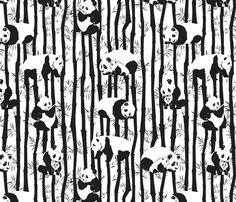 Panda2011 fabric by nikky on Spoonflower - custom fabric