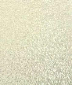 Nassimi Stingray Faux Leather Vinyl - Pearl White