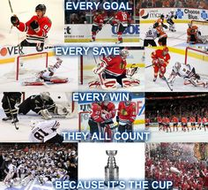 Cause it's the Cup!!!! #Blackhawks #Playoffs