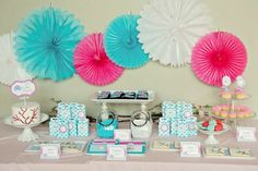 elephant baby shower - love it! The colors of ryleighs room