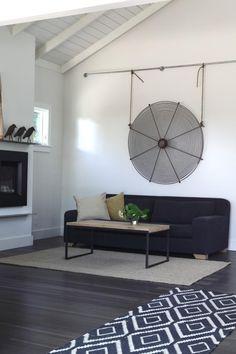 wall art, wall hangings, rug, floor, california, hous, art displays, fan, iron