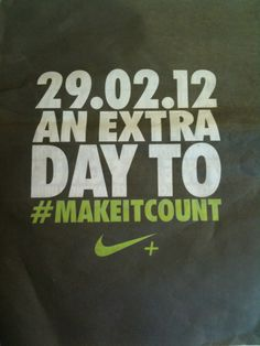 Love this! Happy #LeapYear! Make your extra day count :)