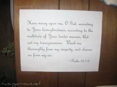 Scripture verses room by room