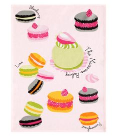 H home, tea towel