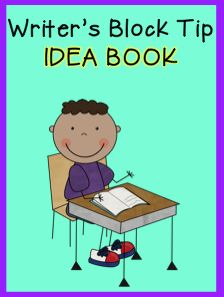 An idea book is the cure for writer's block.  FREE printable.