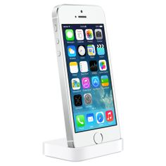 Luckily, the iPhone 5s dock fits the normal iPhone 5!