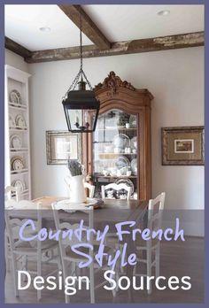 My Sources for Farmhouse French Style www.cedarhillfarmhouse.com