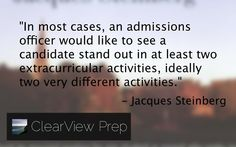 from The Gatekeepers: Inside the Admissions Process of a Premier College  #quotes #college  http://amzn.to/SteinbergTheGatekeepers