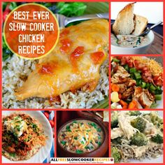 29+ Best Ever Slow Cooker Chicken Recipes