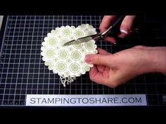 Stampin' Up! Angel Ornament