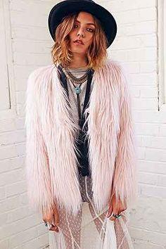 Three Ways To Wear It: Ladakh X UO Margot Faux Fur Jacket