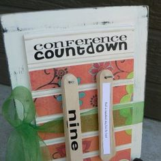 missionary countdown ideas - Google Search