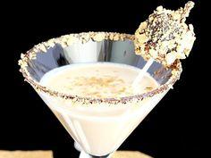 Summer S'mores Martini (1 oz chocolate vodka 1 oz coffee liqueur 1 oz vanilla vodka 1 oz heavy cream)