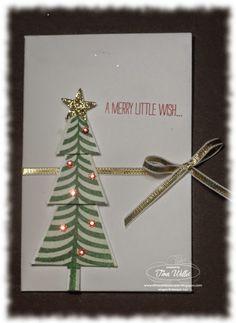 Christmas Envelope Gift Card Holder - video tutorial