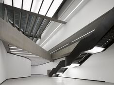Stairs from MAXXI, the National Museum of XXI Century Arts in Rome by Zaha Hadid Architects