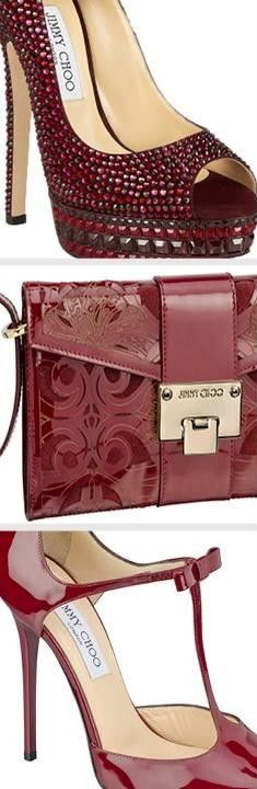 Jimmy Choo Claret color ♥✤